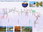 Changbaishan North & West Slope Map