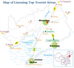 Liaoning Top Tourist Areas Map