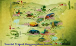 Jingangshan Travel Map