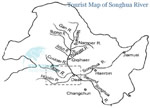 Songhua River Tourist Map