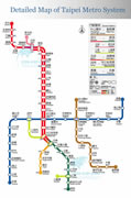 Taipei Subway Map 2009 & 2010