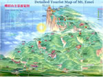 Emei Travel Maps