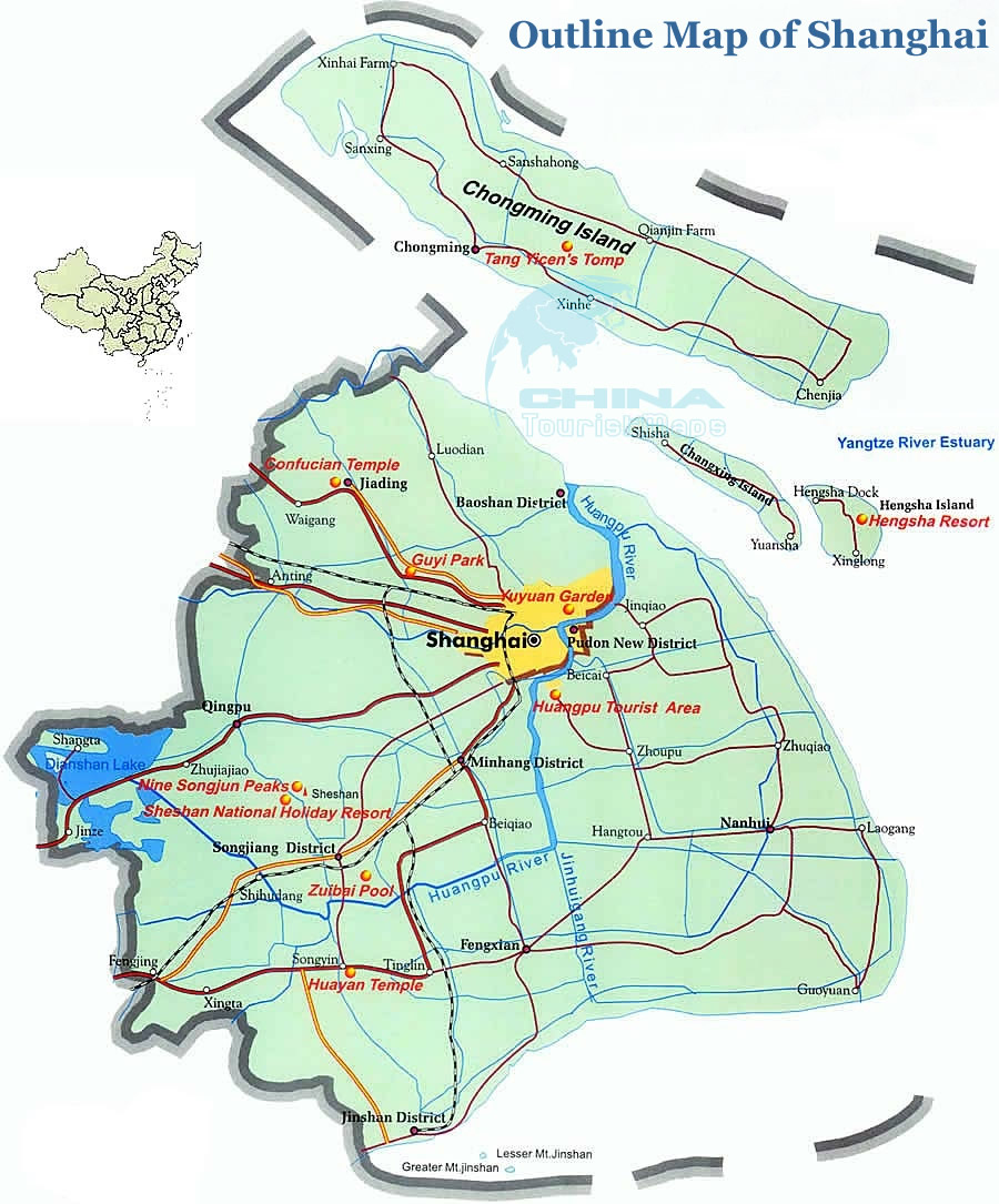 Shanghai Travel Maps Shanghai Tourist Map Shanghai Map 2013 – Shanghai Tourist Attractions Map