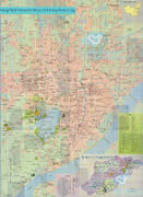 Detailed Hangzhou Tourist Map