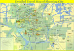 Detailed Shaoxing Travel Map