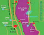 Erhai Lake Map