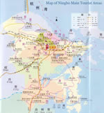 Ningbo Attractions Map