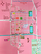 Tourist Map of Dali Old Town