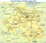 Shaoxing Attractions Map
