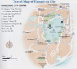 Hangzhou Center Map