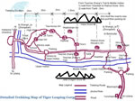Detailed Tiger Leaping Gorge Trekking Map