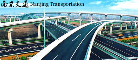 Nanjing Transportation Map - Railway, Highway, Airway, Waterway ...